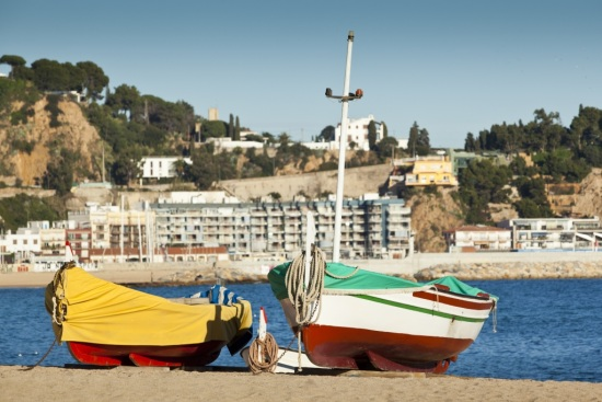 Boats in Blanes